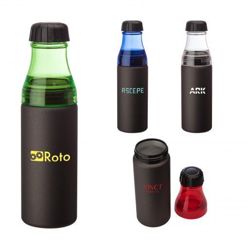 Coronado 24 oz. Aluminum & AS Water Bottle