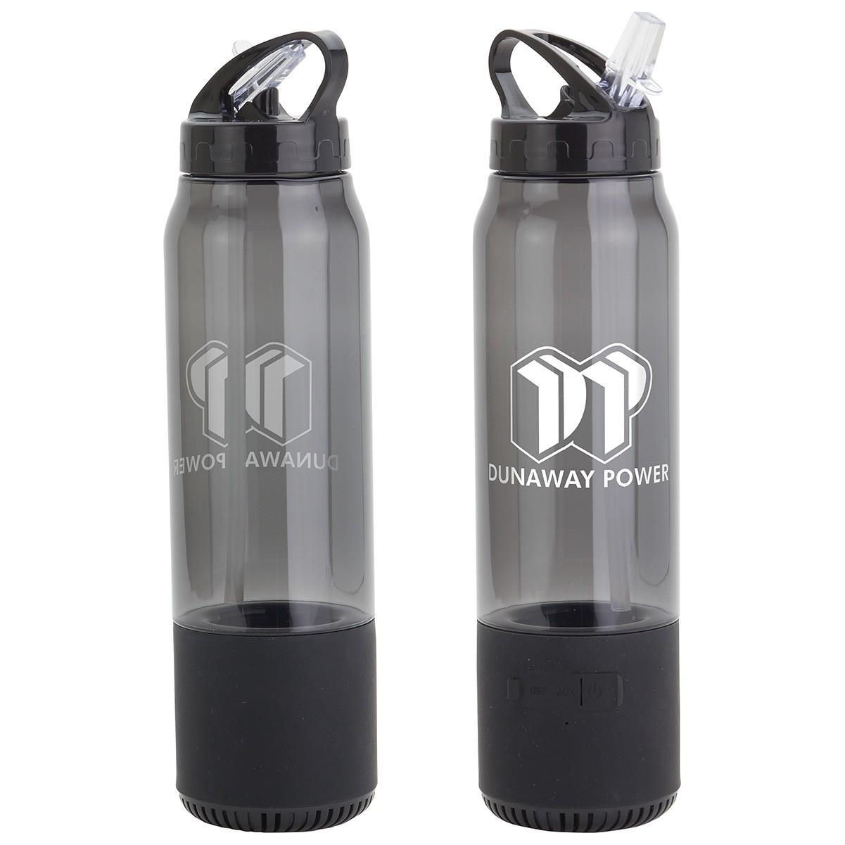 Fusion 12 oz Combo Water Bottle & Wireless Speaker