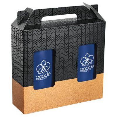 Valhalla Copper Vacuum Tumbler Gift Set with Cork