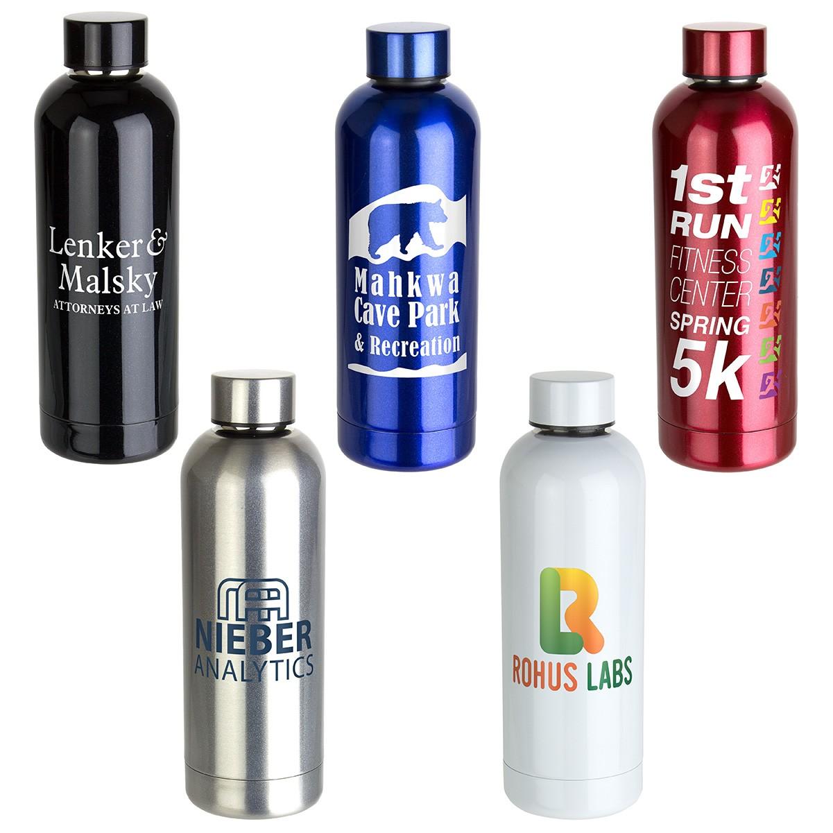 Sleek-Sip Vacuum Insulated Stainless Steel Bottle