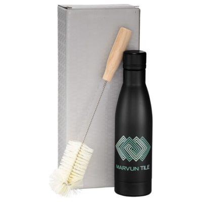 Vasa Copper Vacuum Bottle with Brush 17oz