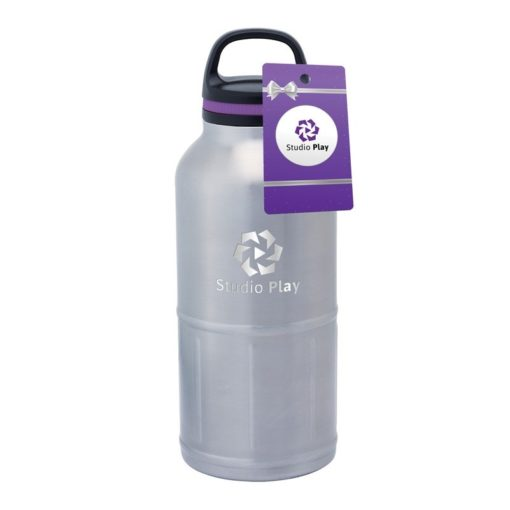Colossal Odin 64 oz. Stainless Steel Vacuum Water Bottle & Hangtag