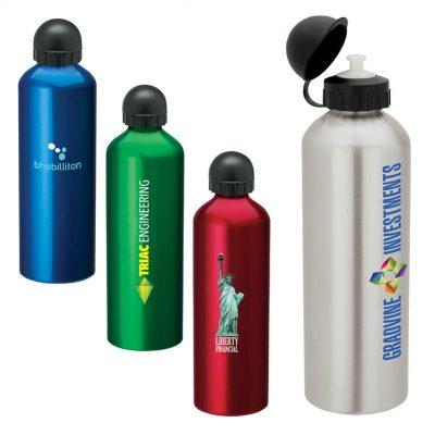 33.8 oz. Domed Sport Flask