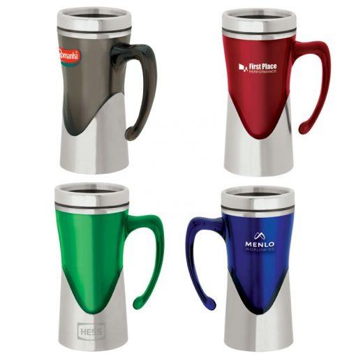 Aelius 14 oz. Acrylic / Stainless Steel Mug