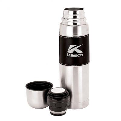 Cinna II 16.9 oz. Steel Flask with Sleeve