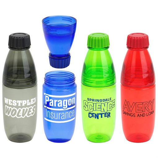 Convertible 20 oz Tritan Bottle and Tumbler
