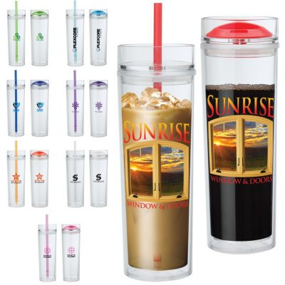 Jomocha 16 oz. Double Lid Hot / Cold Tumbler