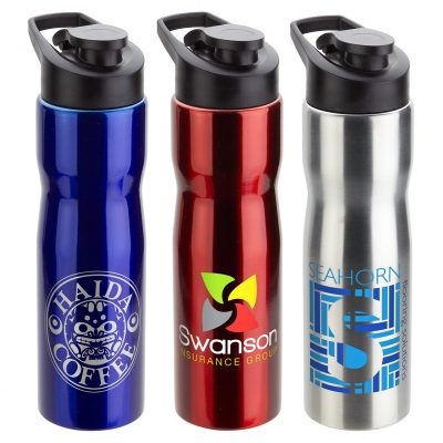Crescent 25 oz Stainless Steel Bottle