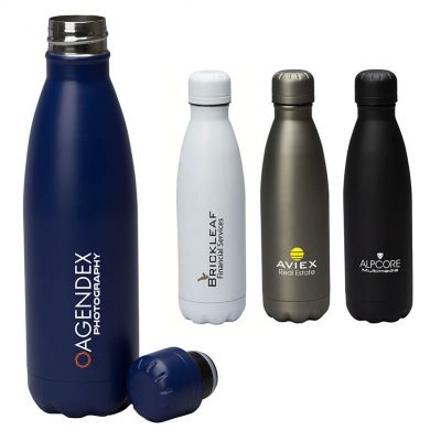 Palermo I 17 oz. Double Wall Stainless Steel Vacuum Bottle