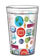15 Oz. Full-Color on Clear ThermalCraft Tumbler - Made in the USA