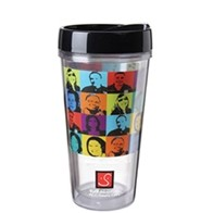 16 Oz. Full-Color on Clear Travel Tumbler - Made in the USA