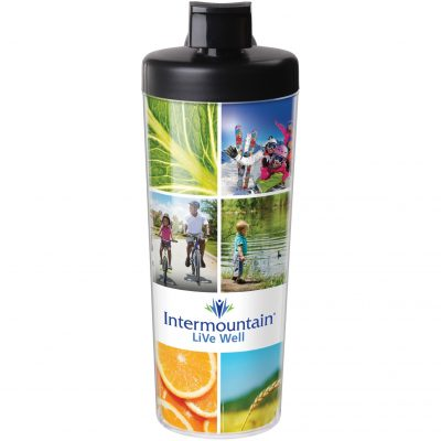 20 Oz. ThermalSport Water Bottle (Full-Color Insert) - Made in the USA