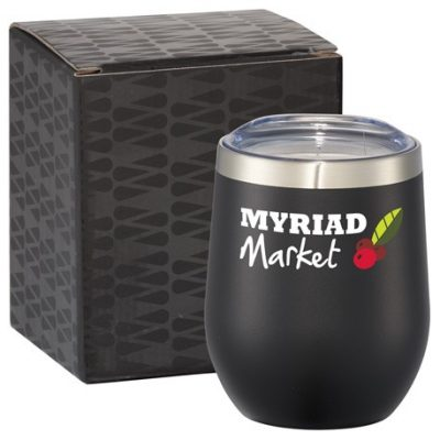 Corzo Copper Vac Insulated Cup 12oz With Gift Box