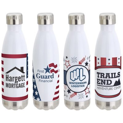 Keep 17 Oz. Vacuum Insulated Stainless Steel Bottle w/Stock Art