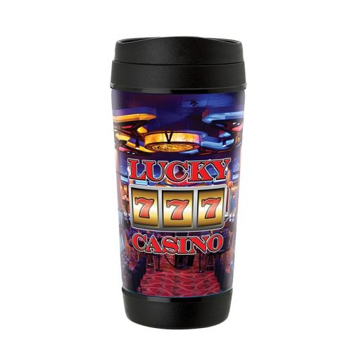 Perka Hibiscus II 17 oz. Insulated Mug