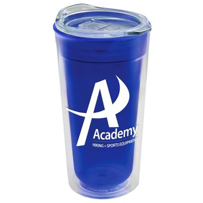 18 Oz. Transparent Tumbler - Clear Slide Lid