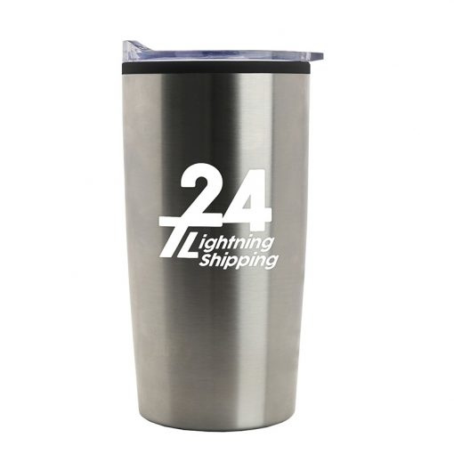 18 oz. Stainless Steel Tumbler with polypropylene liner