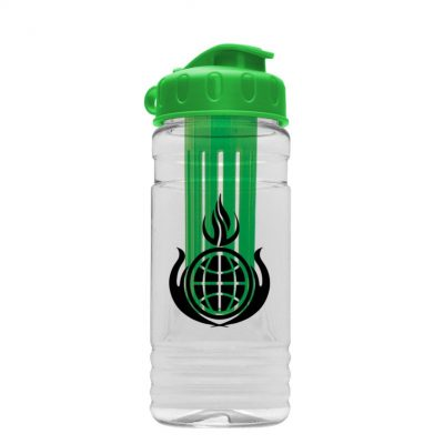 20 oz. Tritan Infuser Sports Bottle - Flip Top Lid