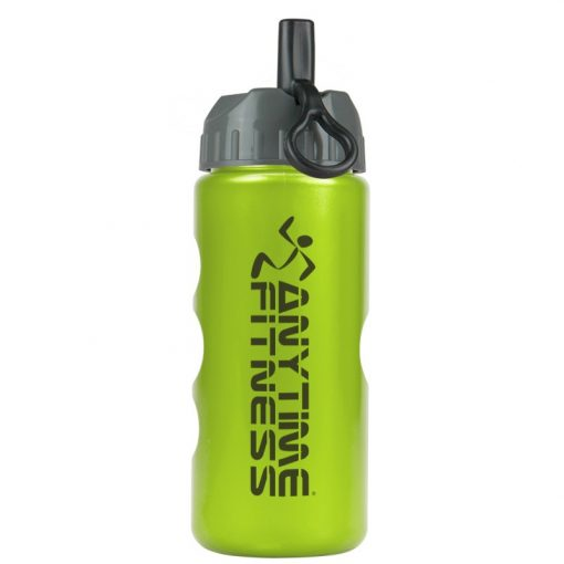 22 oz. Metalike Mini Peak Tritan Sports Bottle - Flip Straw Lid