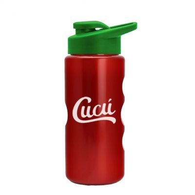 22 oz. Metalike Mini Peak Tritan Sports Bottle - Snap Lid