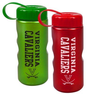 22 oz. Metalike Mini Peak Tritan Sports Bottle - Tethered Lid