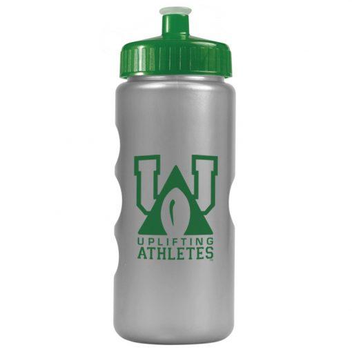 22 oz. Metalike Mini Peak Tritan Sports Sports Bottle - Push Pull Lid