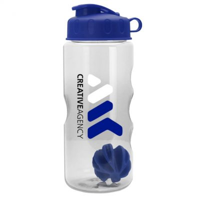 22 oz. Tritan Mini Shaker Sports Bottle - Flip Lid