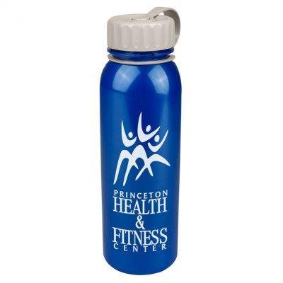 24 oz. Terrain Tritan™ Metallic Sports Bottle - Tethered Lid
