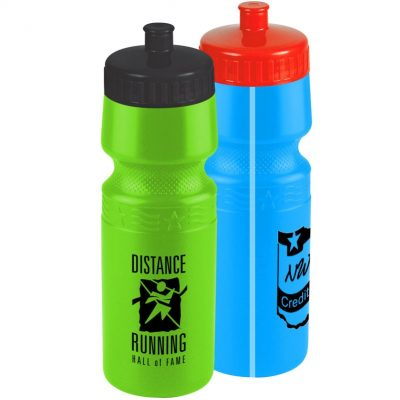 24 oz. The Mighty Shot Premium Bike Sports Bottle - Push Pull Lid