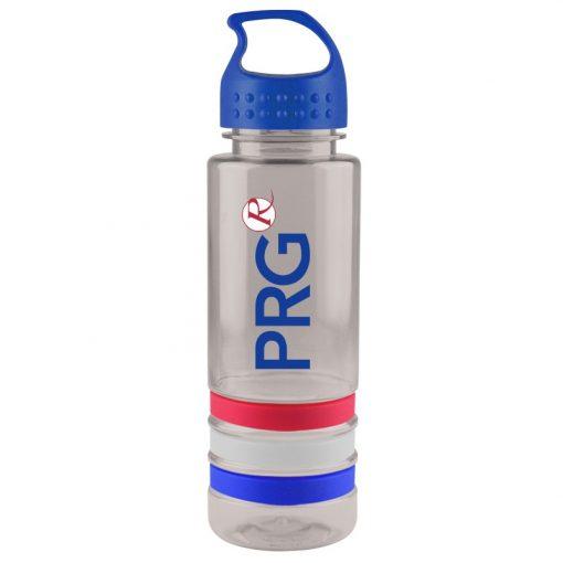 24 oz. Tritan Sergeant Stripe Sports Bottle - Crest Lid