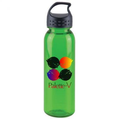 24 oz. Tritan Sports Bottle - Crest Lid - digital imprint