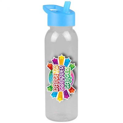 24 oz. Tritan Sports Bottle - Flip Straw - Digital Imprint