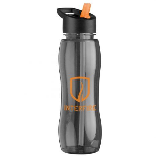 25 oz. Tritan™ Slim Grip Sports Bottle - Flip Straw Handle Lid