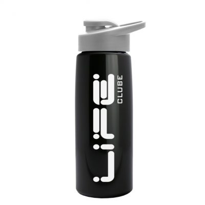 26 oz Metallic Tritan Sports Bottle -Drink Thru lid