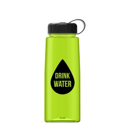 26 oz Tritan Flair Sports Bottle - Tethered Lid
