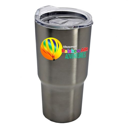Digital Expedition - 18 oz. Stainless Steel Auto Tumbler - digital imprint