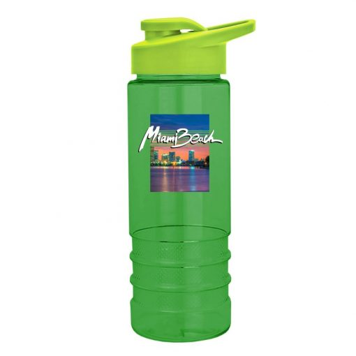 Digital Salute-2 - 24 oz. Tritan Sports Bottle - Snap Lid - digital imprint