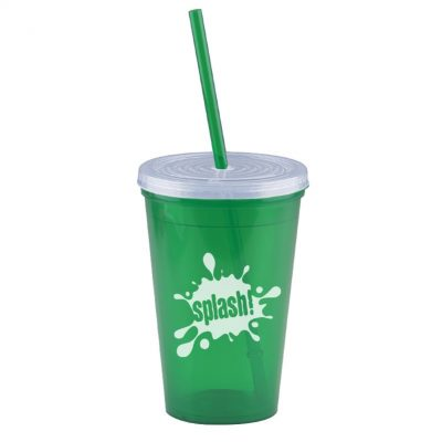 Pioneer 16 oz. Insulated Straw Tumbler