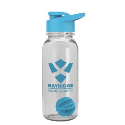 The Cadet 18 oz. Sports Bottle With Drink Through Lid and Mixing Ball