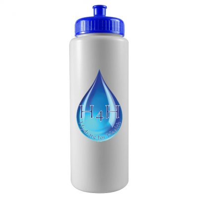 The Sports Quart - 32 oz Sports Bottle - digital imprint