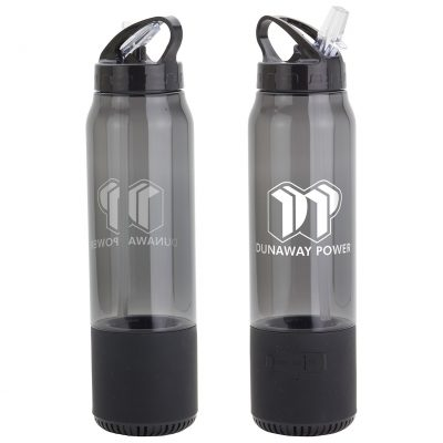 Fusion 22 oz Combo Tritan™ Water Bottle + Wireless Speaker