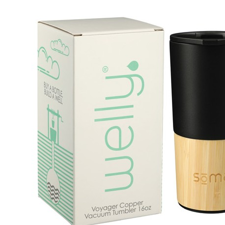 Welly® Copper Vacuum Tumbler 16oz w/ GB