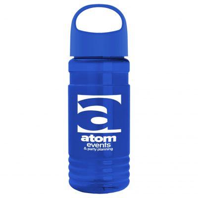 20 oz. Tritan Sports Bottle With Oval Crest Lid