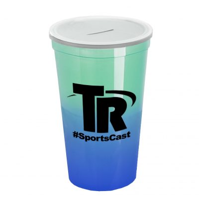 22 oz. Cool Color Change With Coin Slot