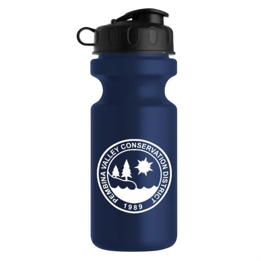 22 oz. Eco-Cycle Bottle with Flip Top Lid