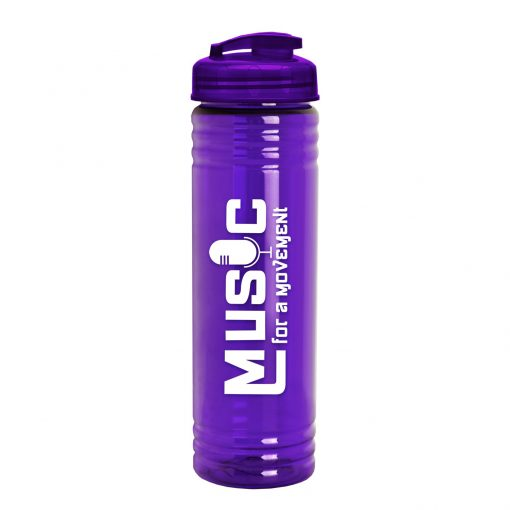 24 oz. Slim Fit Water Bottle with Flip Lid