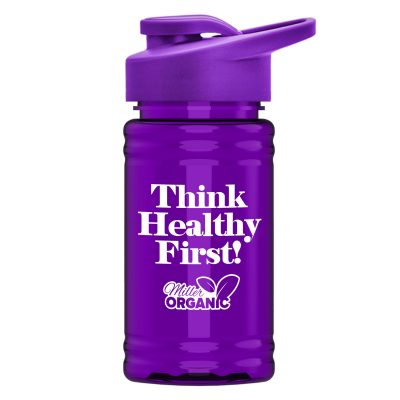 UpCycle - Mini 16 oz. rPet Sports Bottle with Drink Thru Lid
