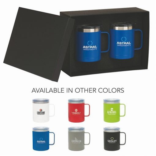 Camper II Two-Piece Camping Mug Gift Set