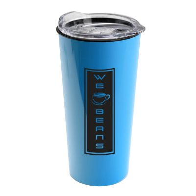 The Roadmaster - 20 oz. Travel Tumbler with Clear Slide lid