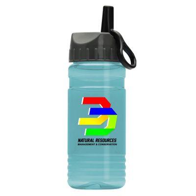 20 oz. UpCycle rPET Bottle Ring Straw Lid - Digital